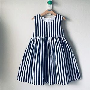 4cdafb687ec Siri stripe - organic cotton baby dress. Boutique